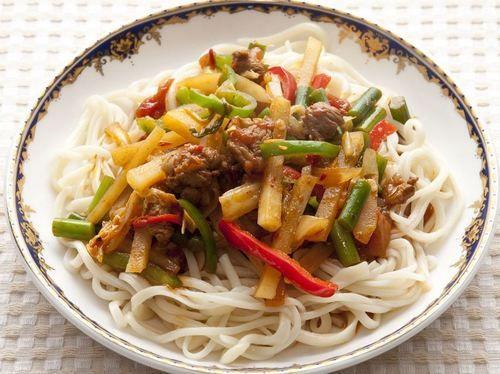 Uzbekistan food Lagman