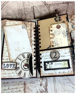 #papercraft #minialbum #scrapbook Chic Scrapbook Designs by Limor Webber