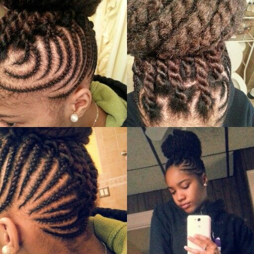 Brilliant 1000 Images About Natural Hair Amp Braid Styles On Pinterest Flat Short Hairstyles Gunalazisus