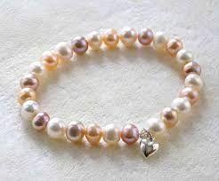 Resultado de imagen para imagenes de pulseras de perlas
