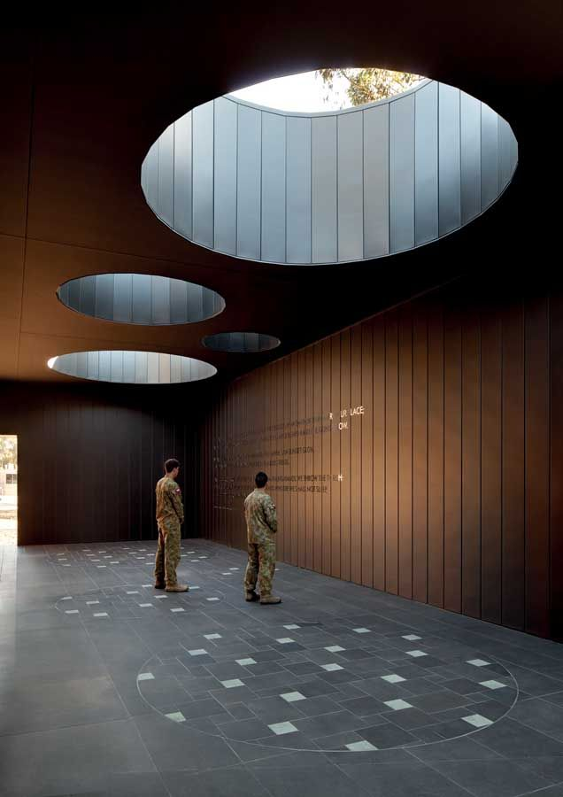 Puckapunyal Memorial Chapel in Australia: Interior Design, Area Memorial, Puckapunyal Military, Place, Space, Chapel Bvn, Bvn Architecture