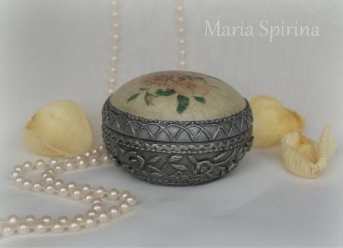 Серебряная малышка (имитация старинного серебра) - Ярмарка Мастеров - ручная работа, handmade