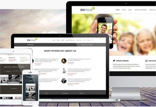 Enfold prémium minőségű WordPress sablon