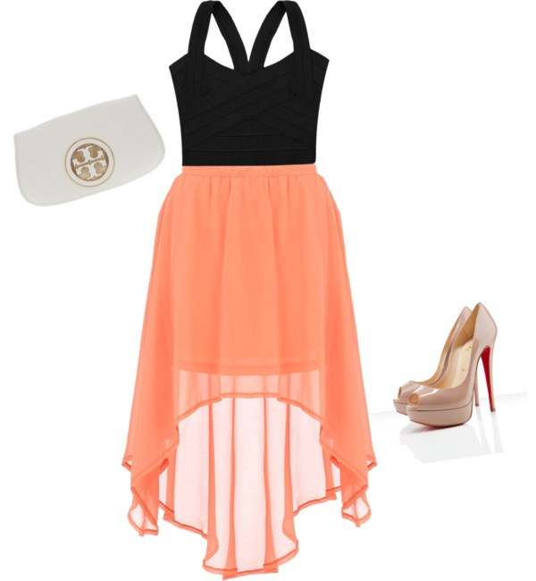 Love: Date Night Outfit, Fashion, Dreams Closet, Style, Color Combos, High Low Skirts, Clutches, The Dresses, Wedding Outfit