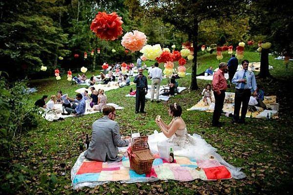 Una alternativa al clásico banquete de #boda, ¡un picnic! ¿te apuntas?