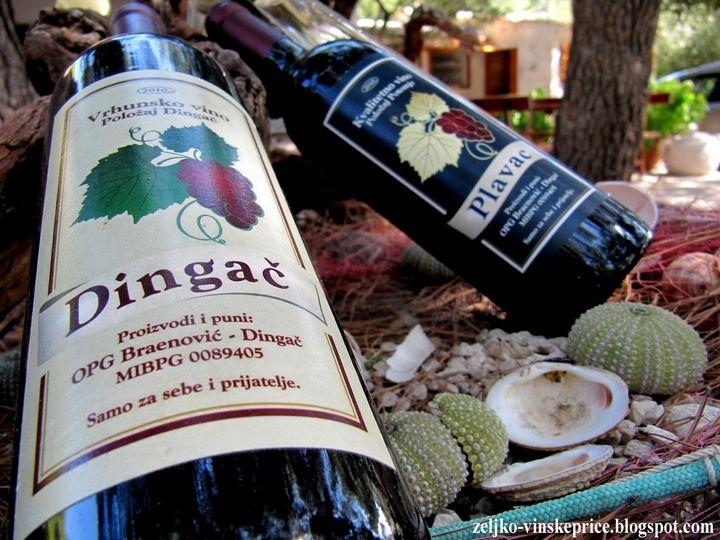 Chorwackie wina Dingač i Plavac || http://crolove.pl/peljesac-polwysep-winem-plynacy/ || #Peljesac #Croatia #Choracja #Hrvatska #wine