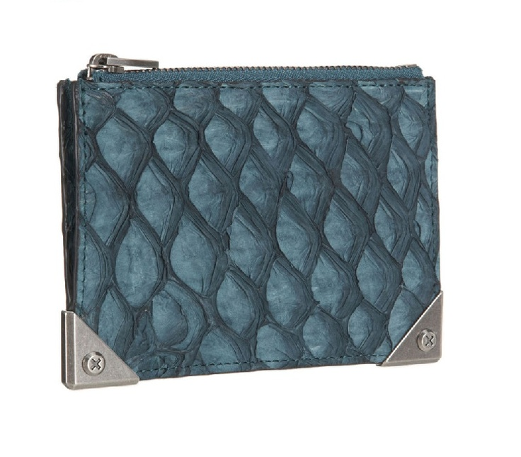 #CardCase made of fish leather (perch) | Design by #AlexanderWang