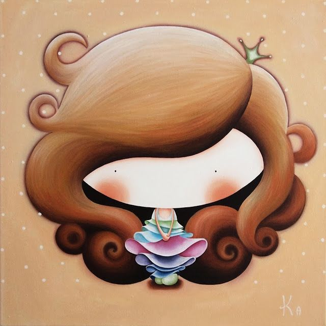 Картины для детских комнат Катерины Лукащук