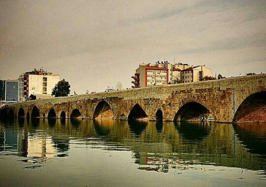 The okd stone bridge - Adana / Turkey