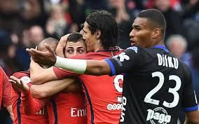 Paris Saint Germain 5 - 0 SC BastiaCompetition: Ligue 1Date: 6 May 2017Stadium: Parc des Princes (Paris)Referee: F. Letexier