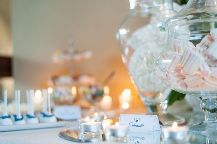 Sweet table romantico e raffinato