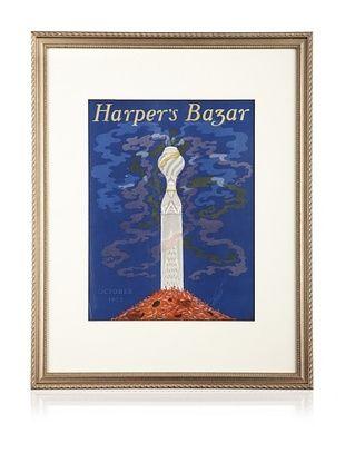 Original Harper's Bazaar cover dated 1923. by Erte. 16