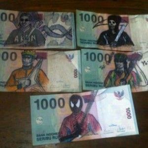 Meme Uang Superhero