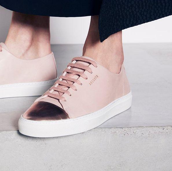 Axel Arigato Cap-toe with metallic details | www.axelarigato.com | #axelarigato #sneakers #leather #shoes