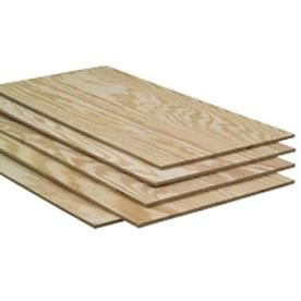 Pine Sheathing Plywood (Common: 23/32 x 2 x 4; Actual: 0.75-in x 24-in x 48-in)