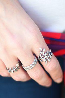 Image result for pandora leaf ring