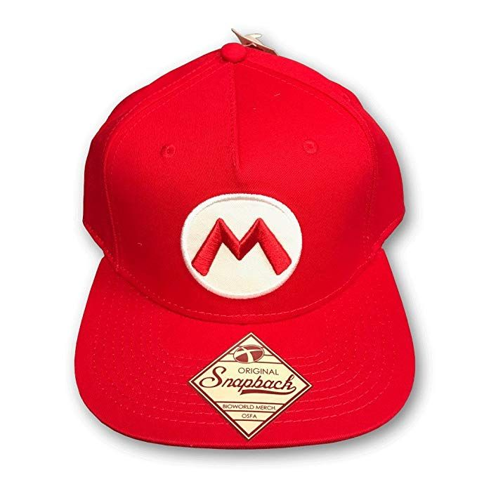 06b6b416f Nintendo Officially Licensed Super Mario Red Snapback Baseball Cap ...