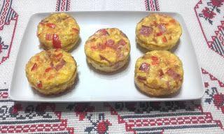 Retete cu margareta cismasiu: Briose aperitiv din omleta