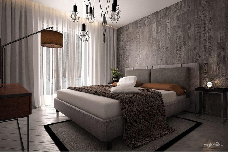 спальня в стиле лофт фото: 24 тыс изображений найдено в Яндекс.Картинках