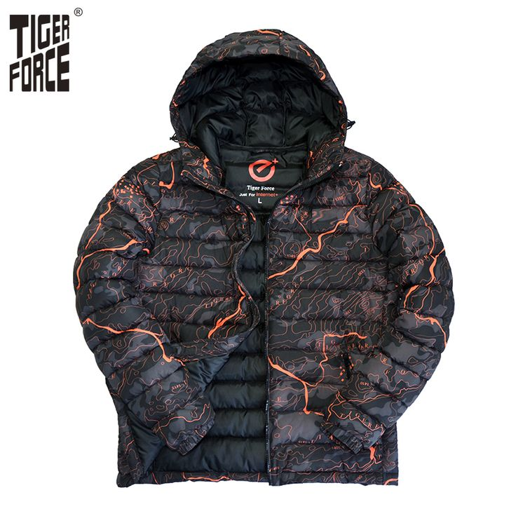 Find More Parkas Information about TIGER FORCE 2017 Men Cotton Padded Jacket Winter Polyester Coat Camouflage Fashion Jacket Parka European Size Hood Free Shipping,High Quality tiger force,China padded jacket Suppliers, Cheap cotton padded jacket from TIGER FORCE Official Store on Aliexpress.com