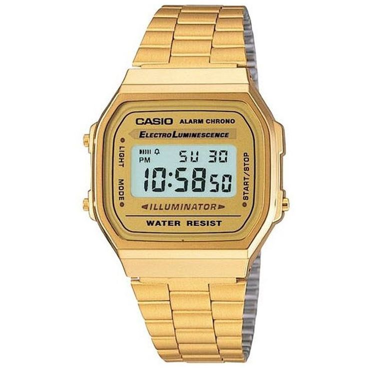 Casio Classic Digital Watch Color: Gold Size: One Size