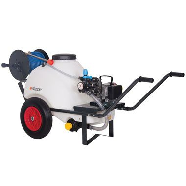 Comet 120 Ltr Wheelbarrow Sprayer 18.5 Ltrs Min 230 Volt Electric Pump From Agratech