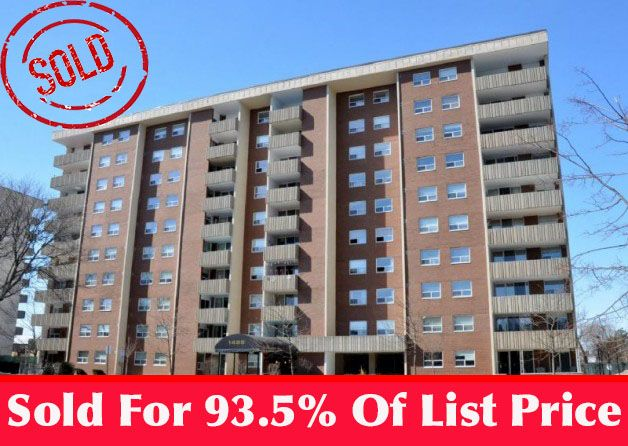JUST SOLD: 608-1425 Ghent Ave in Burlington for 93.5% of Listing Price