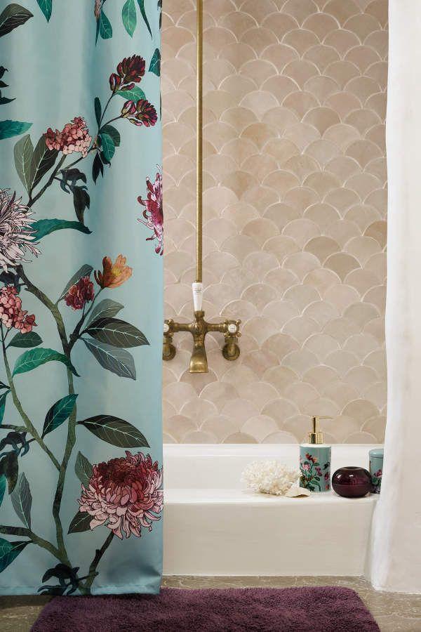 Duschvorhang Badezimmer Dekor Vorhang Lichter Und Haus Deko