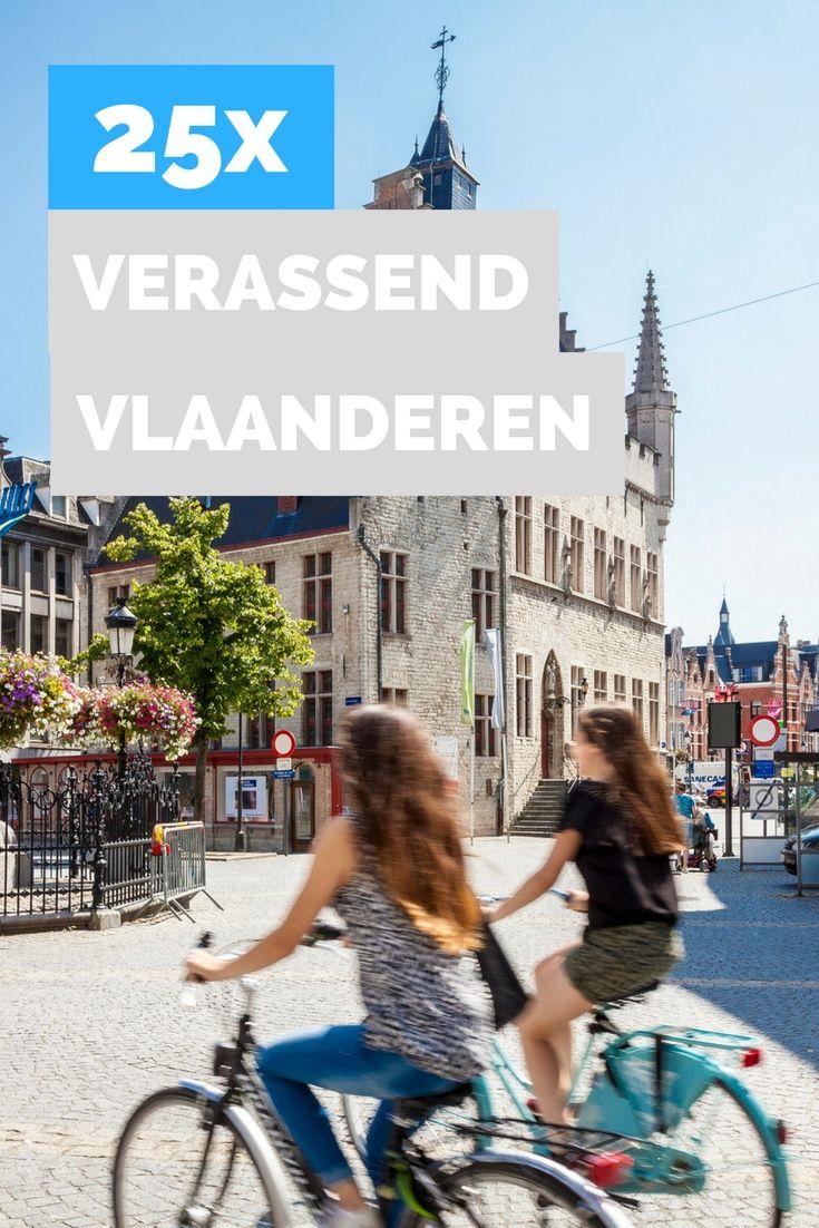 Weekendje weg, maar niet te ver weg? Op naar Vlaanderen. Je kunt er shoppen tot je erbij neervalt, uitwaaien en zee en smullen. Bekijk de 25 leukste dingen om te doen in Vlaanderen.