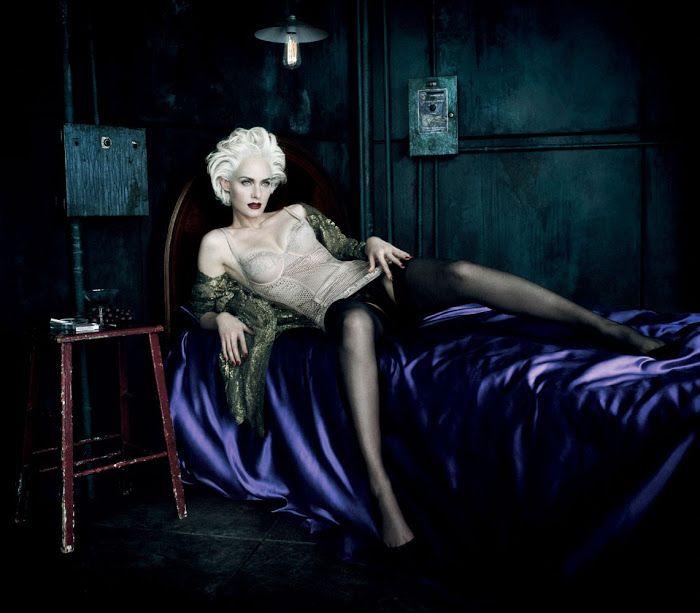 Amber Valletta by Daniele + Iango Agonistica Cult of Photography    http://agonistica.com/amber-valletta-by-daniele-iango/