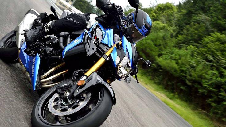 2017 Suzuki GSX 750 Studio Action Details Slideshow HD Promotional Video