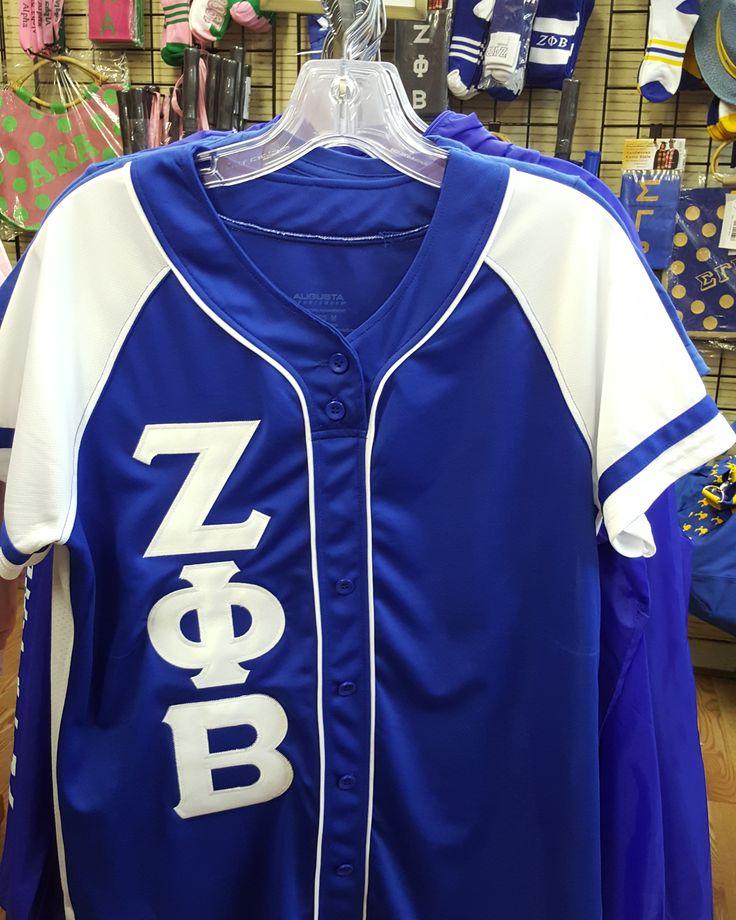 Zeta Phi Beta 2 Tone Jersey