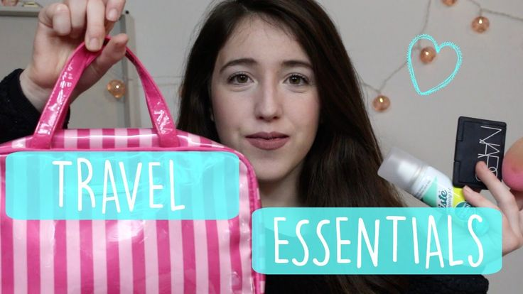 MY TRAVEL MAKEUP AND BEAUTY ESSENTIALS! 2016