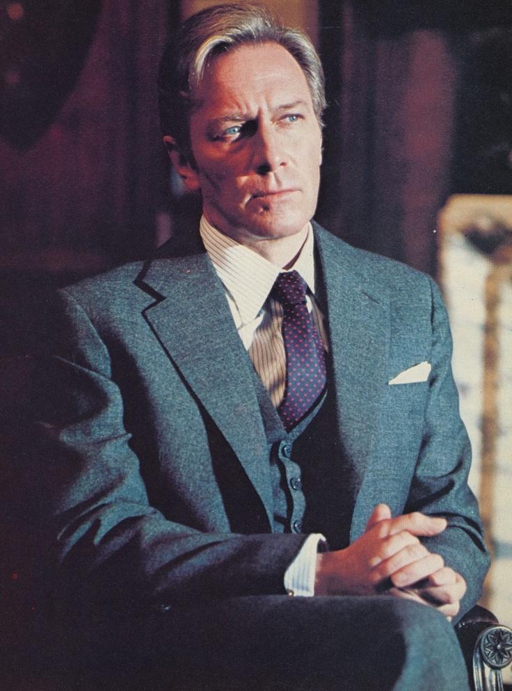 Christopher Plummer, still looking classy.