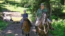 Workaway in . Help with a small farm, gardens, housework and learn to ride in Utah.