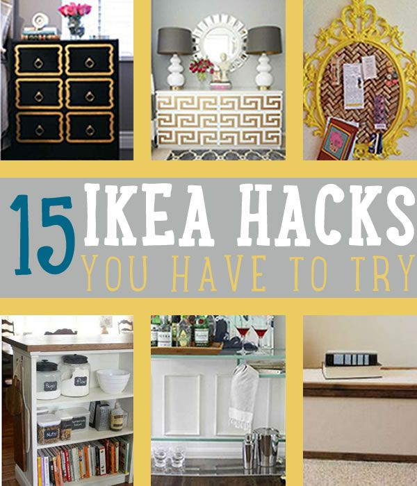 15 Amazing IKEA Hacks | Amazing IKEA hacks that would make a difference to your home. #DIYReady DIYReady.com