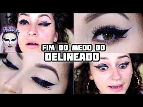7 DICAS PARA FAZER DELINEADO DE GATINHO PERFEITO! - YouTube