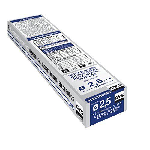 Gys - Electrodos para soldadura  (110 x 2,5 mm) #Electrodos #para #soldadura