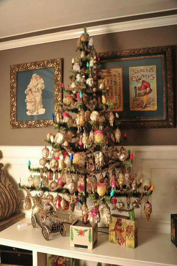 This is a perfect way to display special ornaments.
