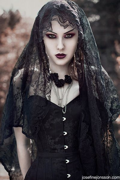 Gothic Bride... Laura this one!! Graveyard shift ...