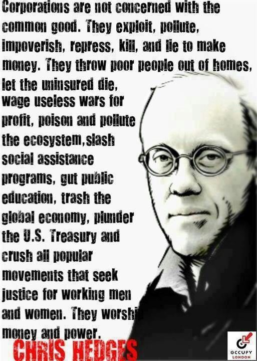 """The old-money rich set up and use corporations as a means to siphon our tax money via the government """"legally"""". It's legal because most of our elected officials in washington have been bought and pocketed by them. Politicians aren't going to go against the people who made them rich, and once rich, it's even more advantageous to make laws that benefit the rich."""