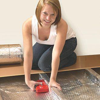Airtec Double Insulation 1.05 x 25m | Loft Insulation | Screwfix.com