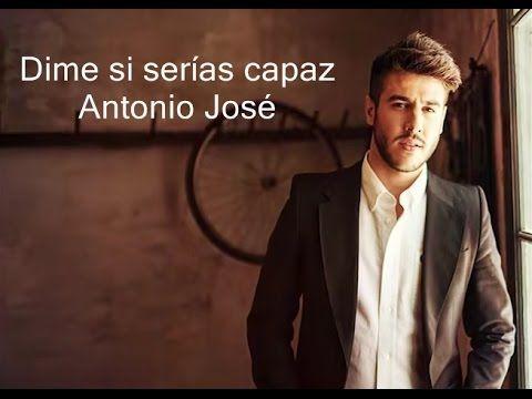 """Dime si serías capaz, canción del disco """"El viaje"""" (2015) de Antonio José ganador de La voz España en el equipo de Antonio Orozco"""