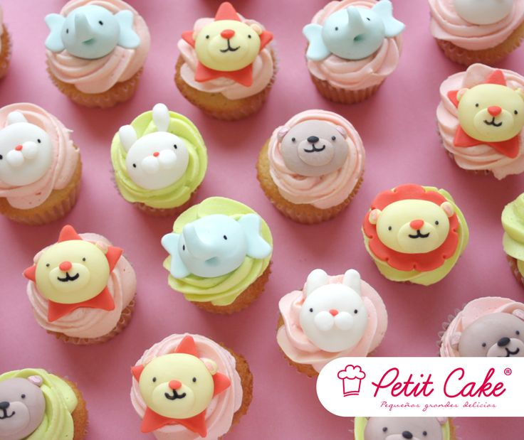 Baby animals for baby shower @petitcakeCOL