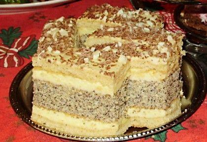 Francia mákos krémes Ildikó konyhájából   NOSALTY – receptek képekkel
