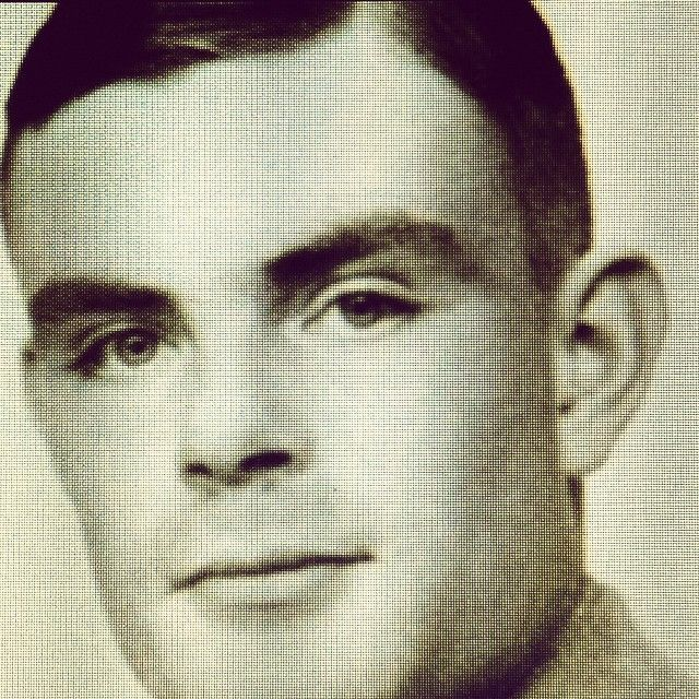 Alan Mathison Turing, the father of theoretical computer science and artificial intelligence.