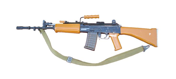 INSAS rifle from India