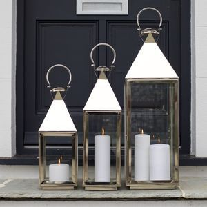 Are You Interested In Our Stainless Steel Candle Lantern? With Our  Decorative Silver Lantern Large Christmas You Need Look No Further.