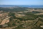 Veduta del Parco Archeologico di Monte Sirai