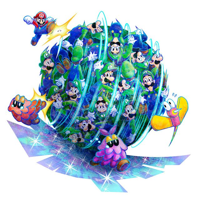 Mario & Luigi - Mario & Luigi: Dream Team Bros.